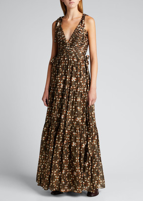Ulla Johnson Lirra Tie-Dye Gown