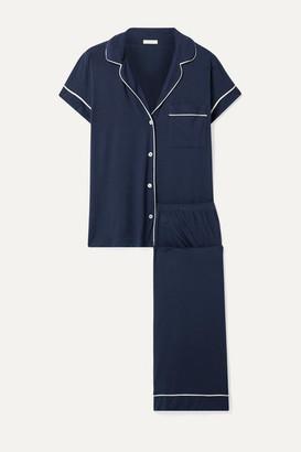 Eberjey Gisele Stretch-modal Jersey Pajama Set - Midnight blue