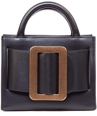 Boyy Bobby 18 Black Leather Handbag