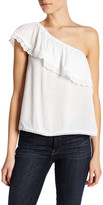 Jolt One Shoulder Ruffle Shirt