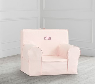 Pottery Barn Kids My First Blush Twill Anywhere Chair