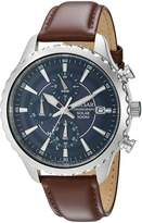 Pulsar Men's PZ6015 Analog Display Japanese Quartz Brown Watch