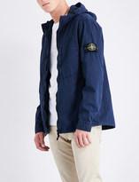 Stone Island Garment-dyed cotton jacket
