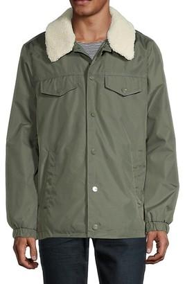 UGG Kegn Faux Fur-Trimmed Tracker Jacket