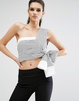 KENDALL + KYLIE Sleeve Wrap Top