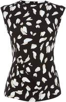 HUGO BOSS Sleeveless printed jersey top