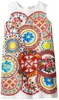 Dolce & Gabbana Mambo Brocade Dress (Toddler/Little Kids)