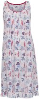Cyberjammies 3281 Heidi Blue & Red Floral Modal Night Gown Nightdress Chemise