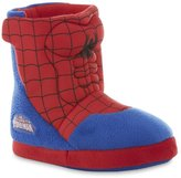 Spiderman Marvel Ultimate Boys Youth Boot Slippers