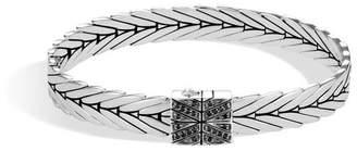 John Hardy Modern Chain Bracelet With Black Spinel