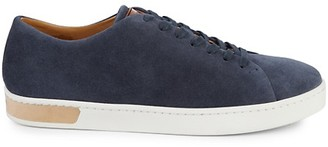 Magnanni Low-Top Suede Sneakers