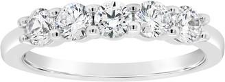 Affinity Diamond Jewelry Affinity 3/4 cttw Diamond 5-Stone Band Ring, 14K Gold