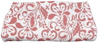 e by design Aurora, Floral Print Bath Towel, Coral