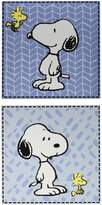 Bedtime Originals Peanuts Forever Snoopu 2 Piece Wall Decor, Blue/White