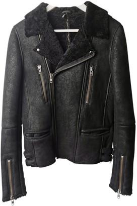 IRO Black Leather Coats