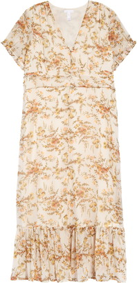 Leith Tiered Maxi Dress