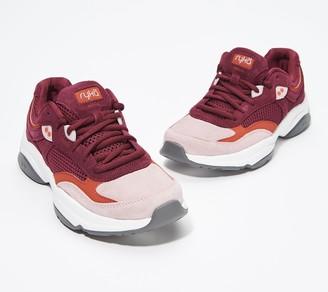 Ryka Suede Lace-Up Walking Sneakers - Nova