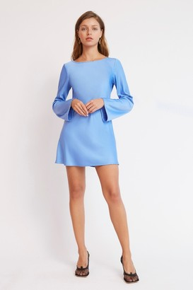 Finders Keepers DELILAH MINI DRESS Blue
