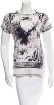 Balmain Eagle Print T-Shirt