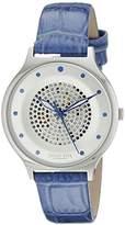 Johan Eric Women's JE1600-04-001.11 Orstead Analog Display Japanese Quartz Blue Watch
