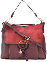 See by Chloe contrast Joan satchel - women - Cotton/Calf Leather - One Size
