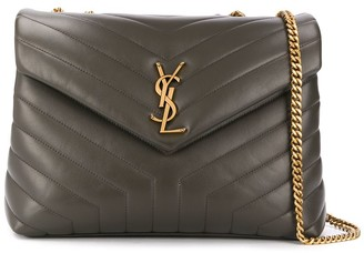 Saint Laurent quilted leather shoulder bag