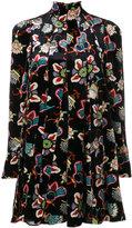 Valentino patterned mini dress