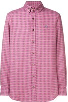 Vivienne Westwood check long-sleeved shirt
