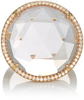 Irene Neuwirth Women's Diamond & Rose De France Amethyst Cocktail Ring