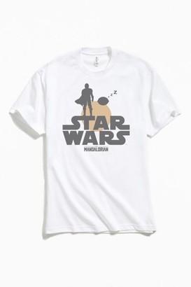 Urban Outfitters Star Wars The Mandalorian Logo Tee