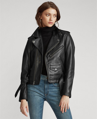 Ralph Lauren Sheepskin Moto Jacket