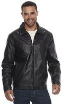 Dockers Men's Faux-Leather Jacket
