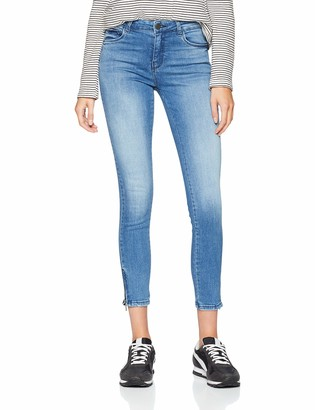 Noisy May Women's Nmkimmy Nr Ankle Zip Jeans Az062lb Noos