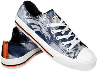 Women's Denver Broncos Tie-Dye Canvas Shoe