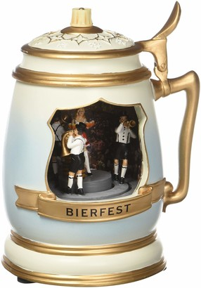 Musicboxworld Musicbox World - 17517 Beer mug with a brew house scene Plays melodies