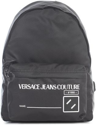 Versace Jeans Couture Nylon Ripstop Shoulder Bag