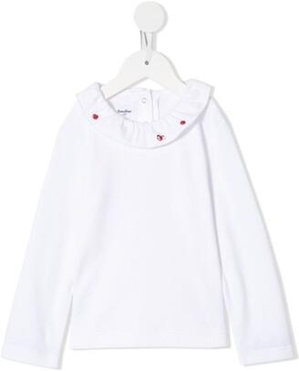 Familiar Ruffle-Collar Top