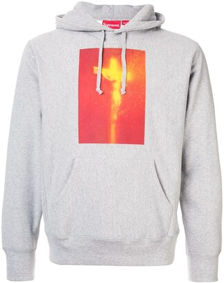 Supreme Piss Christ hoodie