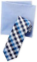 Nautica Portsea Check Tie & Pocket Square Set