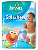 Pampers Splashers® 21-Count Size 6 Disposable Swim Pants
