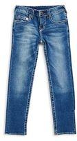 True Religion Boy's Slim-Fit Whiskered Jeans
