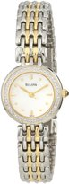 Bulova Women's 98R151 Diamond Petite Classic Watch