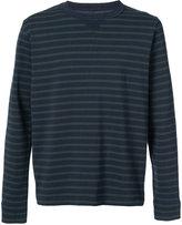 Sacai striped sweatshirt - men - Cotton - 3