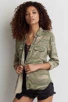 American Eagle Outfitters AE Stay Lovely Camouflage Jacket