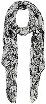 Barneys New York WOMEN'S SPLATTER-PRINT SILK SCARF