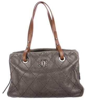 Chanel On The Road Zip Tote
