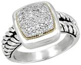 Effy Jewelry Effy 925 Sterling Silver Diamond Ring, .21 TCW