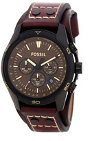 Fossil Men&s Coachman Chronograph Leather Strap Watch