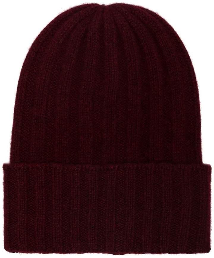 The Elder Statesman Bunny Echo cashmere beanie hat