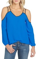 1 STATE Women's 1.state Off The Shoulder Crepe Blouse
